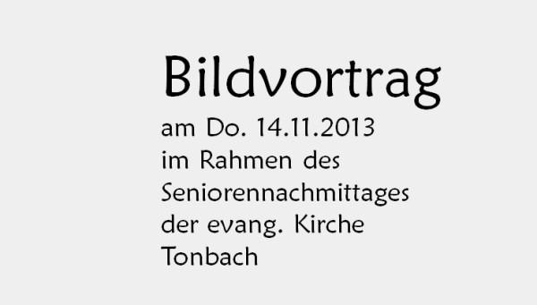 Vom Oberdorf ins Unterdorf evang. Senioren Baiersbronn 14.11.13 nur Text