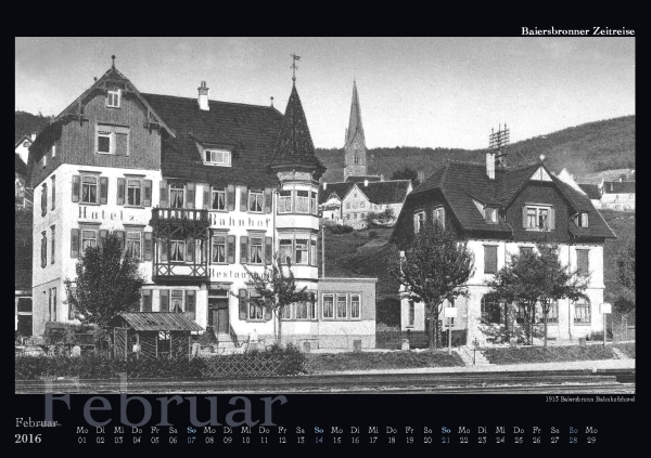 02 - 1915 Baiersbronn Bahnhofshotel reduziert